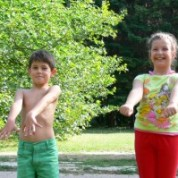 Снимки от обучения на деца